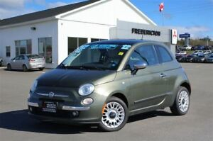 2012 Fiat 500 LOUNGE! LEATHER! SUNROOF! NAV!