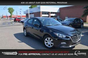 2016 Mazda MAZDA3 GX, BACKUP CAMERA, BLUETOOTH, A/C