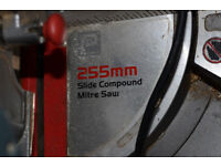 Compound mitre saw 255mm
