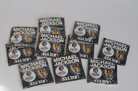 Michael Jacksons pin badger