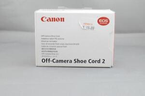CANON CAMERA SHOE CORD 2 - USED (JR)