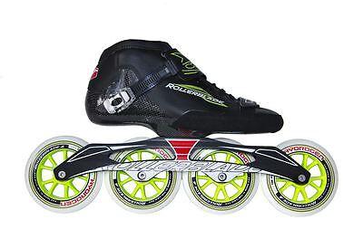 Rollerblade Powerblade GTR 110 Black/Green Mens Inline Skates UK 8