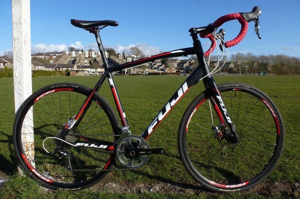 Fuji Sportif 1 1D Disc Shimano 105 58cm Large Road Bike - £480 OBO | in  Lancaster, Lancashire | Gumtree