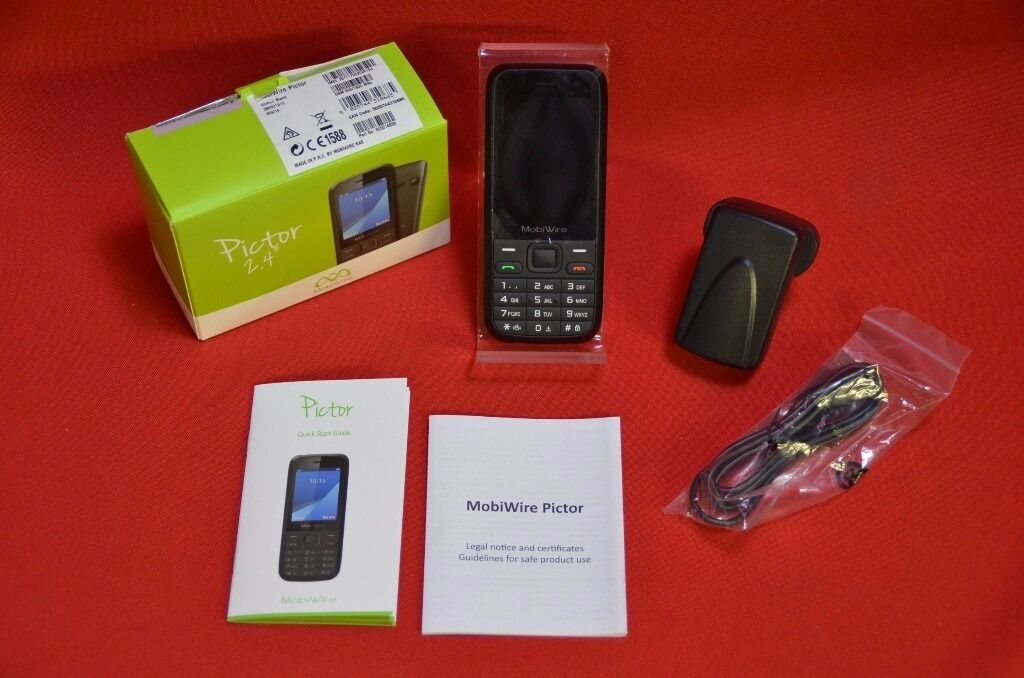 """MobiWire Pictor 2.4"""" Basic Mobile Phone Boxed15in Manchester City Centre, ManchesterGumtree - For sale MobiWire Pictor 2.4"""" """"basic"""" mobile phone (with keypad). The phone is pre owned in a mint """"like new"""" condition and full working order, still with a protective foil over the screen. Unlocked. Comes boxed with charger & manual and covered..."""