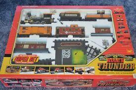 Super Giant Train Set The Rio Grande Railroad Rollin Thunder