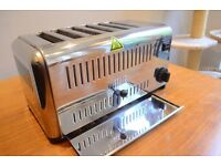 Buffalo CB433 6 Slot Catering Toaster - £80