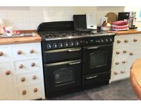 Rangemaster Classic 100 gas cooker with electric hotplate