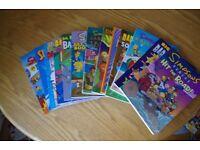 Selection of Bart Simpson comic books