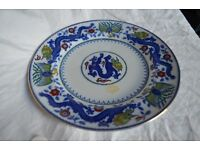 "Minton Chinese Dragon and Bird 10"" pate"