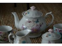 Accessorize With Love(from John Lewis) porcelain teapot tea set cups saucers etc