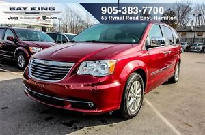 2016 Chrysler Town & Country LIMITED, HTD LEATHER, REMOTE START,