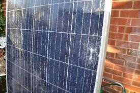 25 big solar panels. 270 watts