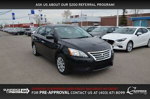 2015 Nissan Sentra 1.8 S, BLUETOOTH, CLOTH, POWER PKG