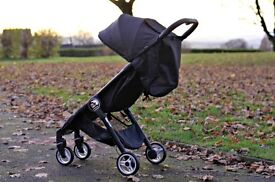 Baby Jogger® city tour compact fold stroller - onyx