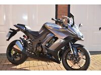 Kawasaki ZX 1000 MEF, Grey colour, very low mileage, has been looked after extremely well