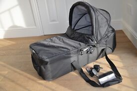Compact carry cot for baby jogger stroller- good condition