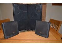 4 Pioneer Surround Sound Speakers