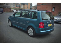 Volkswagen Touran 1.9 TDI, 5-seater, 6-gears, priced for quick sale