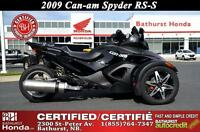 2009 Can-Am Spyder RS-S