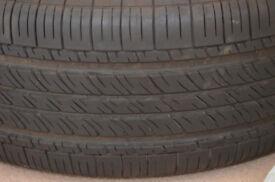 "BMW E53 X5 17"" Wheel + Michelin E. MXV4 PLUS 235\65 R17 104H M+S"