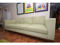 Large very good high quality three seat sofa by The Sofa and Chair Co. London.