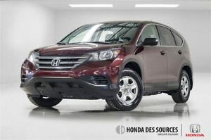 2012 Honda CR-V LX 5 SPD at 4WD - BAS Millage -
