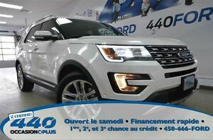 2016 Ford Explorer Limited  *Cuir, Toit, Navigation*