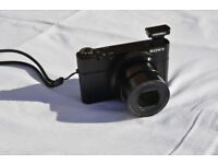Sony RX100 20.2MP Digital Camera - Excellent condition, little used.