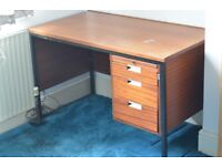 80's style office desk