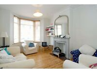 A large four double bedroom house available for short let, located on Burnthwaite Road in Fulham.