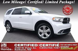 2015 Dodge Durango Limited SWEET RIDE!!! Like New! Low Mileage!