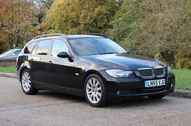 2005 BMW 325I TOURING E90 AUTOMATIC 82K MILES! ESTATE! MOT NO ADVISORY! PANORAMIC ROOF! HIGH SPEC!