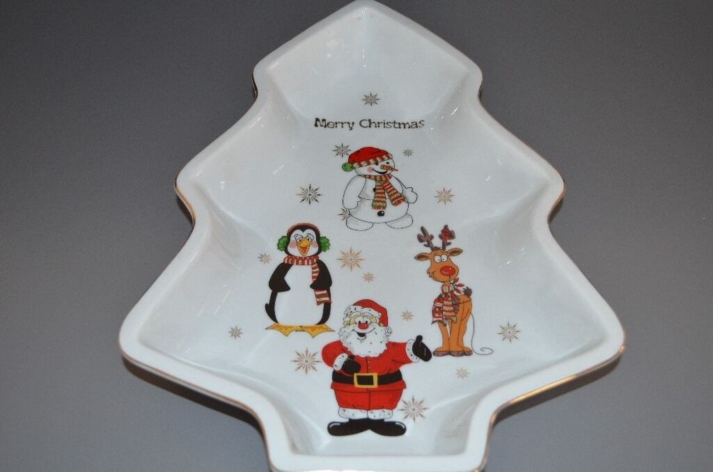 Ceramic Christmas tree shaped bowl | in Leicester, Leicestershire ...
