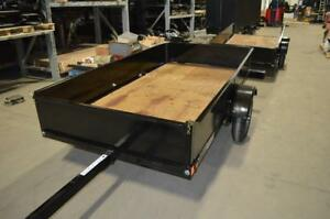 New Folding Utility Trailer - Stinger Fold N Store Trailer