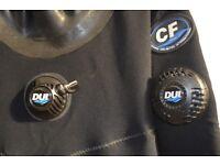 DUI CF200 Drysuit & Rock boots size M