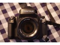 [REDUCED IN PRICE] Pentax 67ii + 105mm f2.4