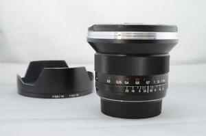 Zeiss DISTAGON 18mm F/3.5 ZE - USED (ID155)