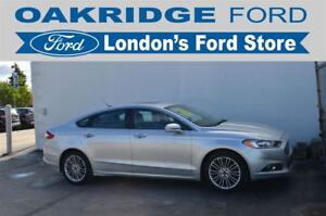 2013 Ford Fusion ACCIDENT FREE, HEATED PREMIUM LEATHER SEATS WIT