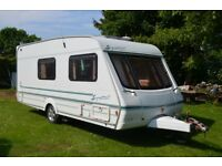 4 Berth Caravan, Swift Signature 17/4 2001 No Damp ,motor mover, alloy wheels alko hitch Stabiliser