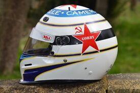Custom helmet, car, bike painting for karting, trackday, motocross, race or road