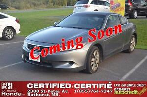 2010 Honda Accord Cpe Ex-L Certified! Auto Start! Leather! Power