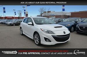 2012 Mazda Mazdaspeed3 NAVIGATION, HEATED SEATS, BLUETOOTH