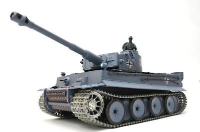 Used, RC German Tiger I Tank  2.4G shooting + Smoking + sounding Pro Version  UK for sale  Shipping to Ireland