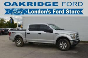 2016 Ford F-150 ONE OWNER, ACCIDENT FREE XLT F150 WITH 4X4, BLUE