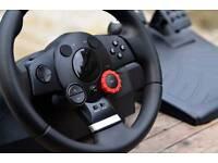 Logitech GTForce steering wheel PC. PS3