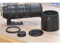 Sigma 150-500 telephoto lens NIKON fit