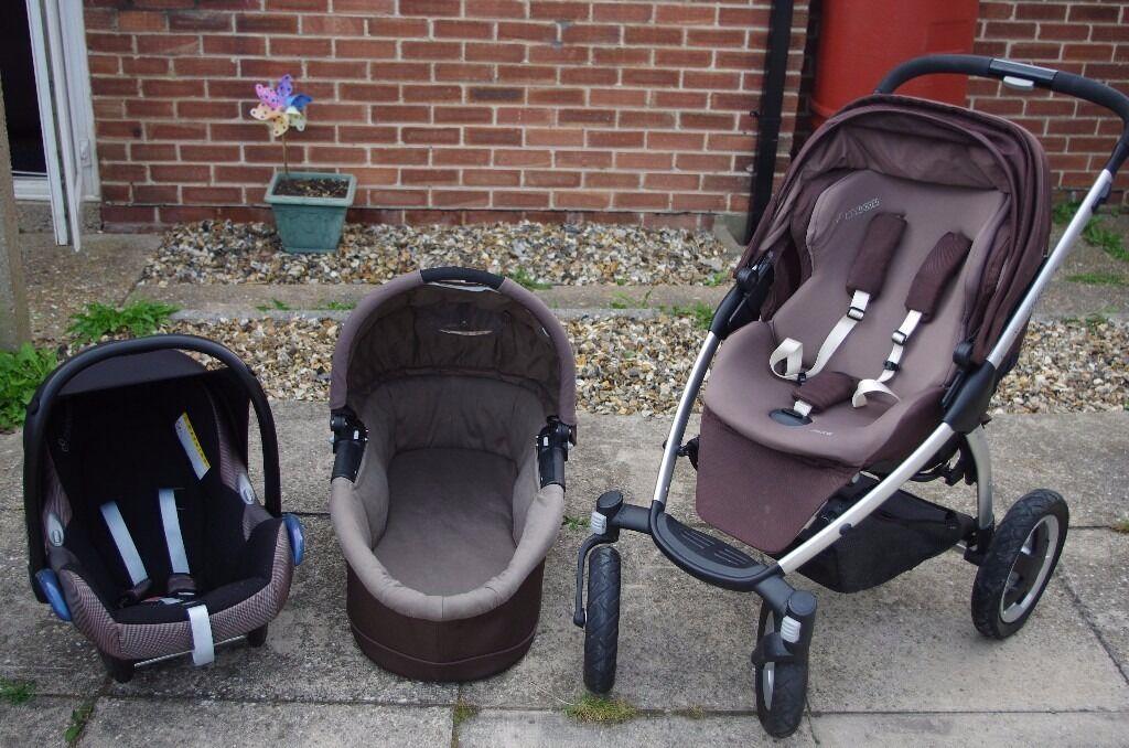 Maxi Cosi Mura 4 3 In 1 Plus Accessories In Kings Lynn