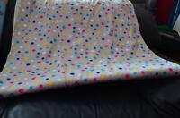 Polka dot flannel material - 2 metres