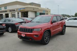 2017 Jeep Grand Cherokee Trailhawk - 4x4, V6, GPS, Ventilated Se