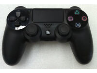 PS4 Sony Official Black V2 Controller in mint condition like new